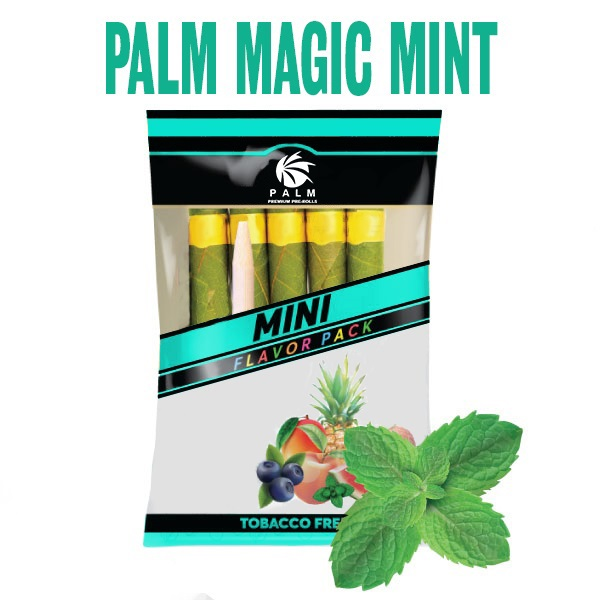 magic mint cbd pre rolls, magic mint pack, sativa, indica